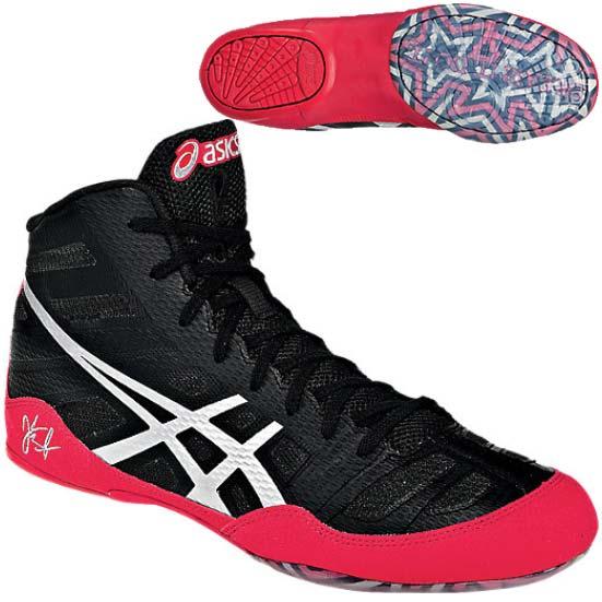 Asics JB Elite Wrestling Shoe - Black