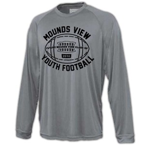 Mounds View Football Long Sleeve Power Tee