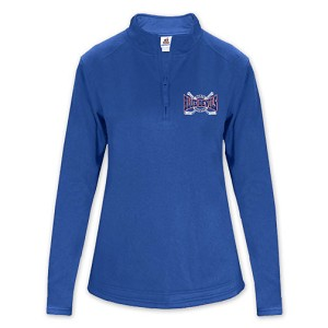 Blue Devils Ladies Poly 1/4 Zip Fleece