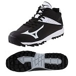 Mizuno Men's Jawz Blast 4 Multi-Purpose Cleat - Black/White