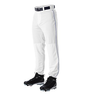 St. Anthony White/Royal Piped Baseball Pant