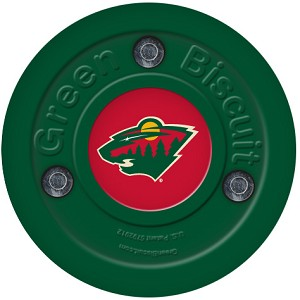 Green Biscuit NHL Hockey Training Puck