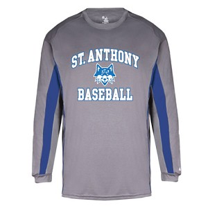 St. Anthony Baseball Long Sleeve T-Shirt