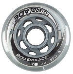 Rollerblade Wheels 76mm/80A w/SG5 Bearings