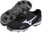 Mizuno 9 Spike Vintage G6 Low - Black/White