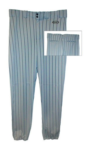 Bike Pinstripe Poly Baseball Pant Adult
