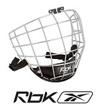 RBK 5K Hockey Face Mask - Silver