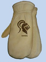 Irondale Knights Deerskin Pile Lined Glove