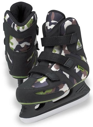 Jackson Tri-Grip Camouflage Hockey Skate Youth