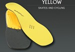 Superfeet Insoles Skate & Cycle - Yellow