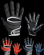 Cutters X40 C-Tack Football Receiver Glove Adult