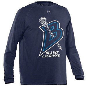 Blaine Lacrosse UA Performance Long Sleeve T-Shirt