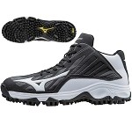 Mizuno 9 Spike Advanced Erupt 3 - Black/White