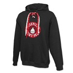 Roseville/St. Paul Hockey Lace Up Hoodie Adult/Unisex
