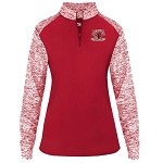 Coon Rapids Hockey Blend Lightweight 1/4 Zip Ladies