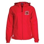 Coon Rapids Hockey Hooded Raglan Jacket Ladies