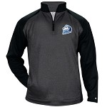 Ice Dogs Hockey Heather Tonal Fleece 1/4 Zip