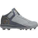 Warrior Vex 3.0 Lacrosse Cleat Junior - Grey
