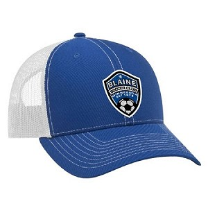Blaine Soccer Snap Back Hat