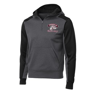 Irondale Girls Golf 1/4 Hooded Sweatshirt