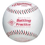 Diamond Machine Batting Practice Baseball