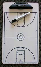 Clafin Basketball Clipboard