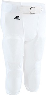 Russell Half Belt Football Pant with Snaps Youth