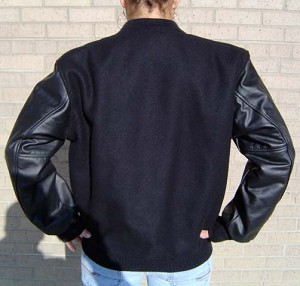 Fridley Wool/Leather Letter Jacket