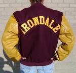 Irondale Wool/Leather Letter Jacket