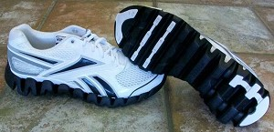 Reebok Zig Fuel Shoes - White/Black/Silver