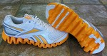 Reebok Zig Fuel Shoes - White/Team Orange