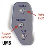 Athletic Spec. Oversize Umpire Indicator