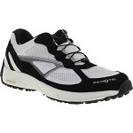 Rocky Runs Womens ZeroTie Shoe - White/Black