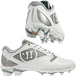 Warrior Gospel Mens Lacrosse Cleat - White