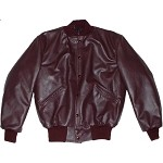 Irondale Leather Letter Jacket