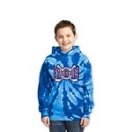 Blue Devils Tie-Dyed Pullover Hooded Sweatshirt