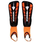 Vizari Preston Soccer Shin Guards -Black/Orange